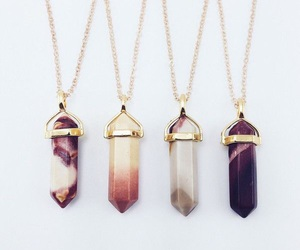 accessories, necklace, and crystal image