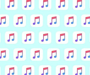 wallpaper, music, and pattern image
