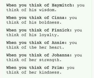 annie, characters, and catching fire image