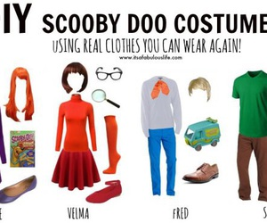 daphne, Fred, and halloween costume image