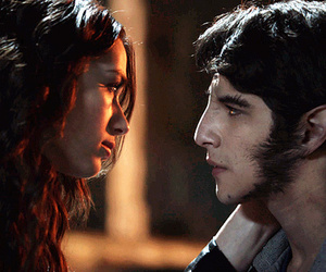 teen wolf, crystal reed, and scott mccall image
