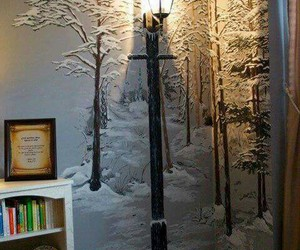 room, narnia, and wall image