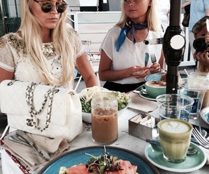 fashion, food, and friends image
