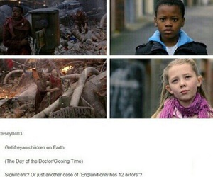 doctor who, kids, and tumblr image