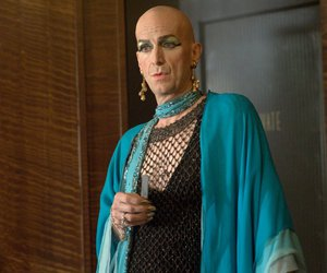 liz taylor, ahs, and denis o'hare image