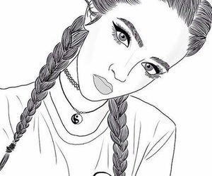 Dessin Fille 77 images about fille (dessin) tumblr on we heart it | see more