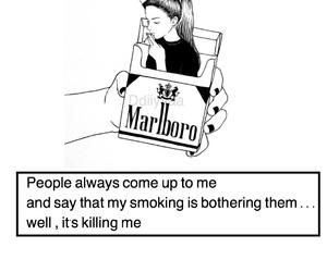 bad girls, cigarette, and kill image