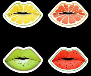 lips, overlay, and png image