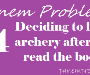 archery, katniss, and hunger games image