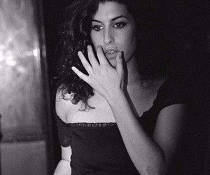 amy, Amy Winehouse, and black and white image
