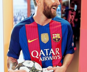 Barca, football, and king image