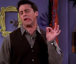 chandler, funny, and green image