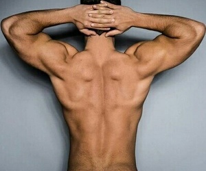 boy, Hot, and muscles image