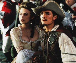 pirates of the caribbean, Elizabeth, and keira knightley image