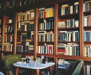 books, caffee, and reading image
