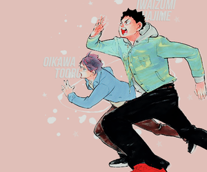 haikyuu and oikawa tooru image