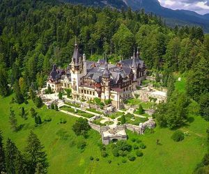 castle, outdoor, and romania image