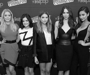 squad, lucy hale, and pretty little liars image