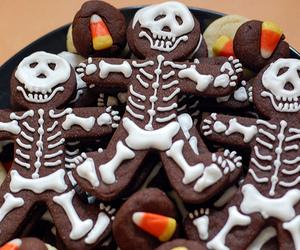 Halloween, chocolate, and food image