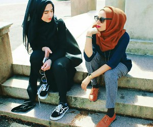 hijab, amazing, and fashion image