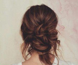 brown, hair, and caramel image