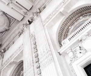 architecture, white, and building image
