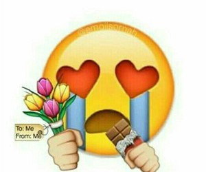 chocolate and emoji image