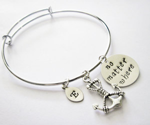 etsy, anchor bracelet, and gift for best friend image