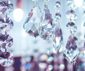 crystal, diamond, and light image