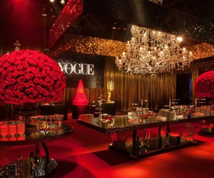 vogue, red, and luxury image