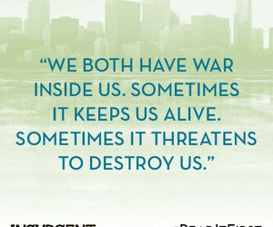 book, quote, and insurgent image