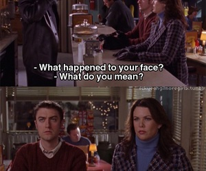 funny, gilmore girls, and Kirk image