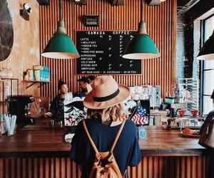 coffee and girl image