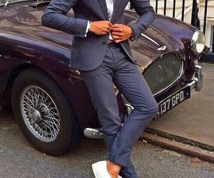 luxury, man, and car image