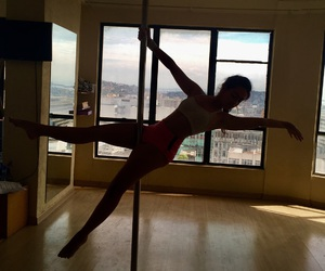 dance, pain, and pole image
