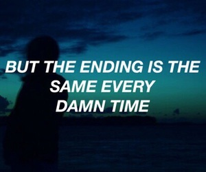quotes, grunge, and halsey image