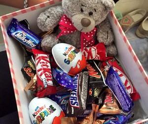 gift and chocolate image