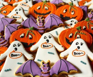 coockie, happy, and trickortreat image