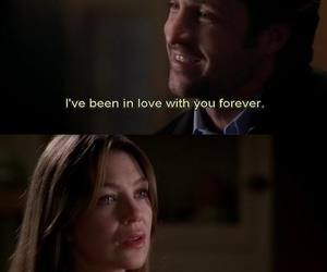 grey's anatomy and love image