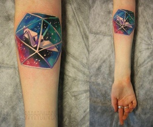 color, tattoo, and lovely image