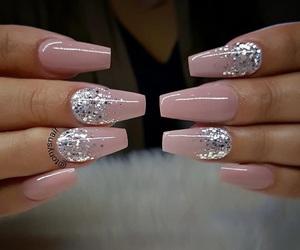 fashion, woman girl, and nail nails nailart image