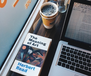 art, cafe, and book image