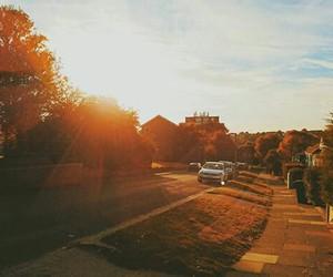 adventure, sunset, and autumn image