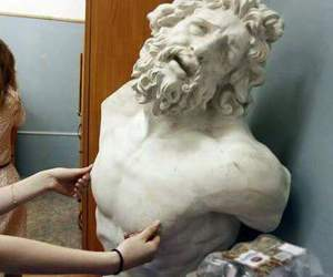 funny, art, and statue image