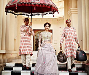 bollywood, dress, and lehenga image