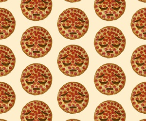 background, pizza, and iphone image
