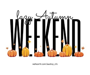 autumn, leaves, and weekend image
