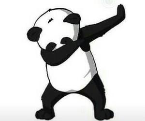 panda, dab, and wallpaper image