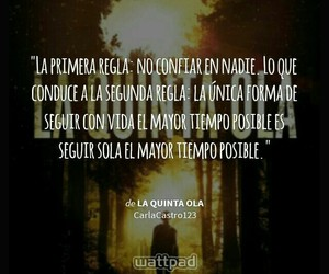 frases, saga la quinta ola, and quotes image