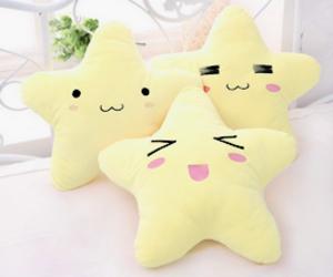 kawaii, lucky star, and stars image